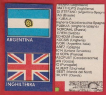 Argentina & England Flags